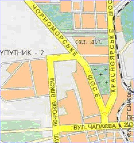 интерактивная карта евпатории